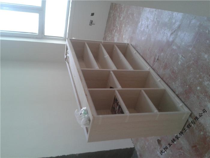 沈阳霍尔公寓家庭装修施工中图片10